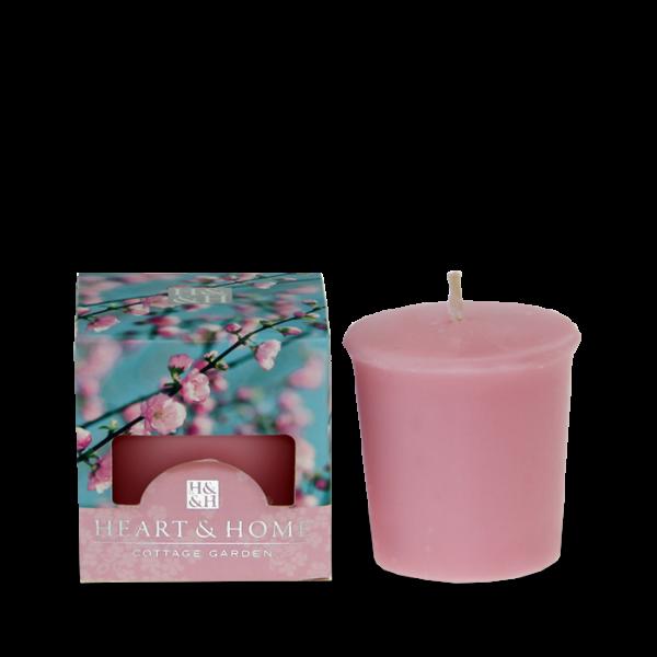 Votivkerze Pink Flower 52g