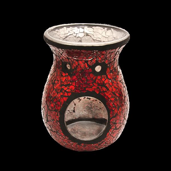 Duftlampe Mosaik Rot