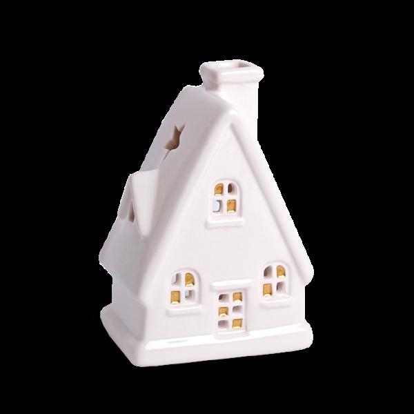 Teelichthalter Haus Spitzdach 2017