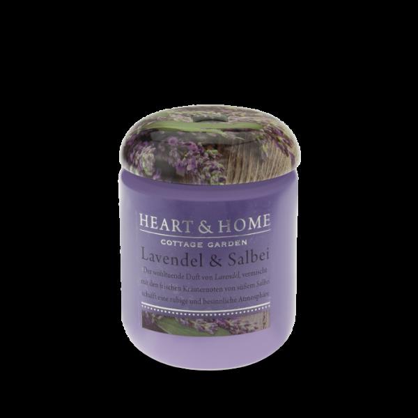 Duftkerze Lavendel & Salbei 115g