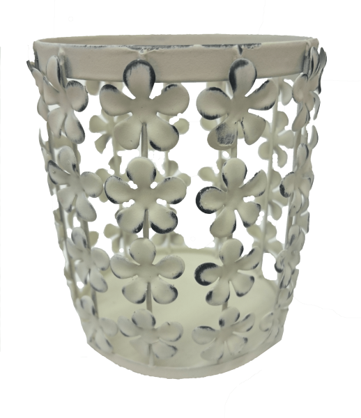 Kerzenhalter Klein Blumen Perle