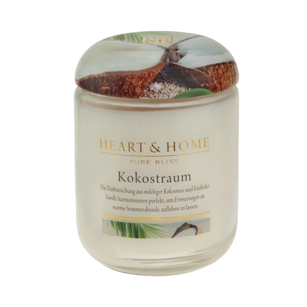 ***2 for 1*** Duftkerze Kokostraum 340g