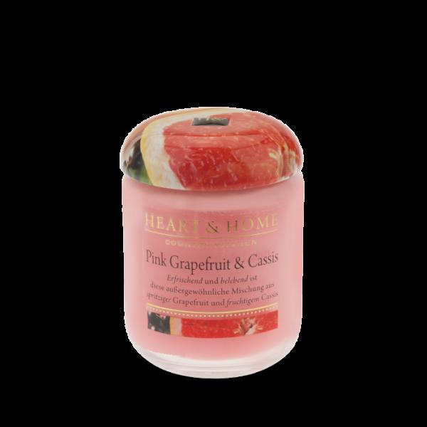 Duftkerze Pink Grapefruit & Cassis 115g