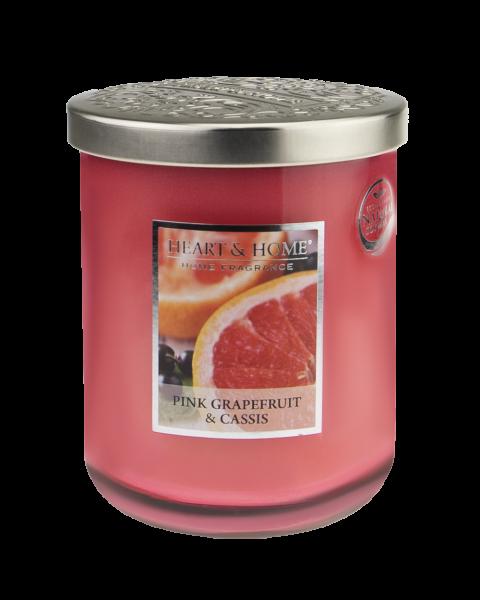 NEU Duftkerze Pink Grapefruit & Cassis 340g