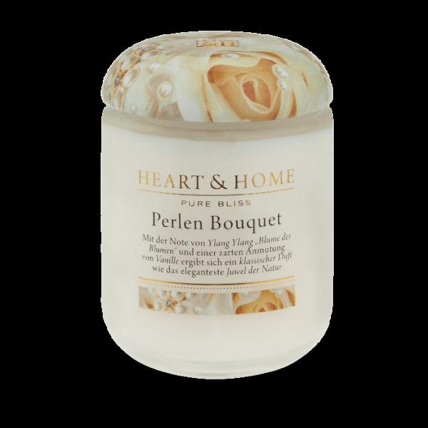 Duftkerze Perlen Bouquet 340g