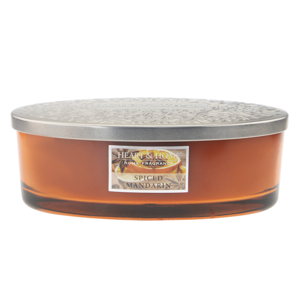Duftkerze Ellipse Spiced Mandarin 420g
