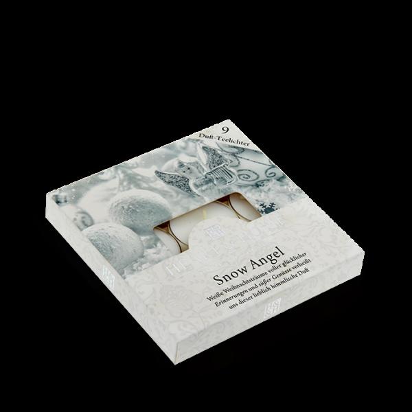 Duft-Teelichter Snow Angel im Geschenkkarton