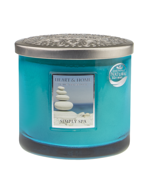 NEU Duftkerze Ellipse Simply Spa 230g