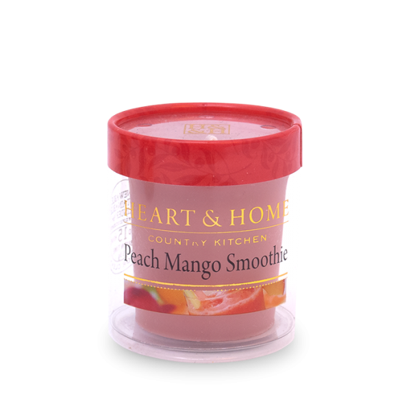 Votivkerze Peach Mango Smoothie 52g