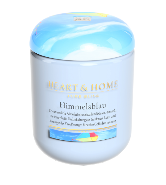 ***2 for 1*** Duftkerze Himmelsblau 340g
