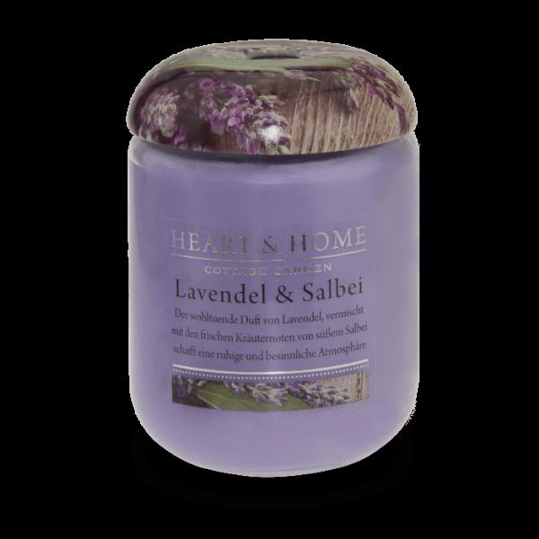 Duftkerze Lavendel & Salbei 340g