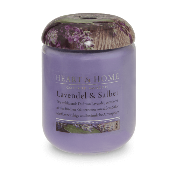 ***2 for 1*** Duftkerze Lavendel & Salbei 340g