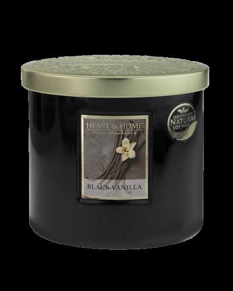 Duftkerze Ellipse Black Vanilla 230g