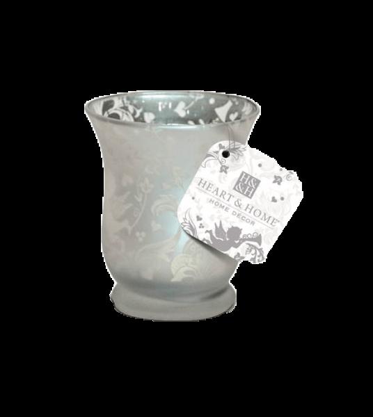 Teelichthalter Silber Engel