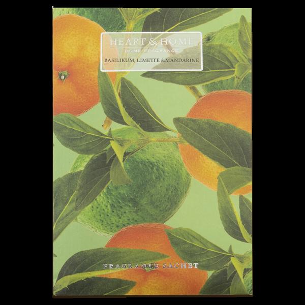 Duftsachet Basilikum, Limette & Mandarine