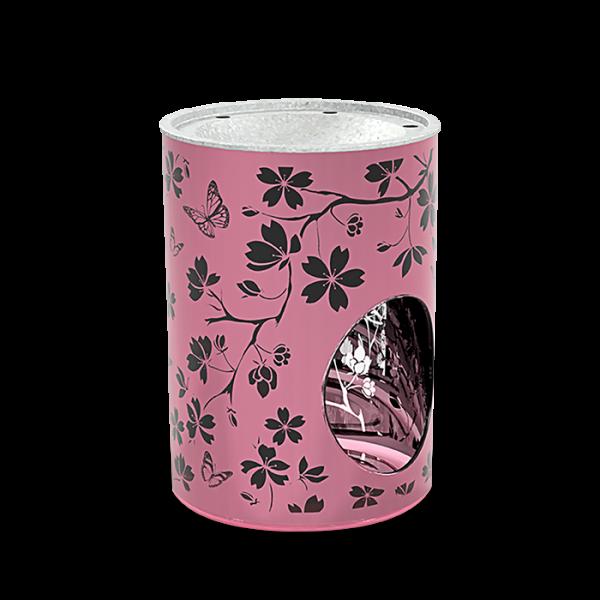 Duftlampe Glas Pink Flower