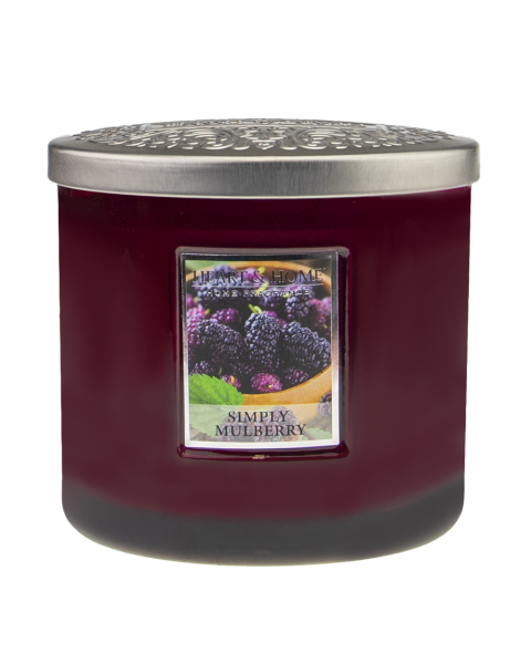 NEU Duftkerze Ellipse Simply Mulberry 230g