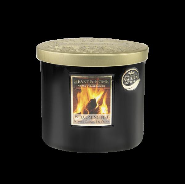 Duftkerze Ellipse Welcoming Fire 230g
