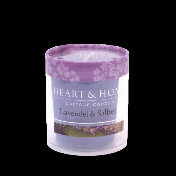 Votivkerze Lavendel & Salbei 52g