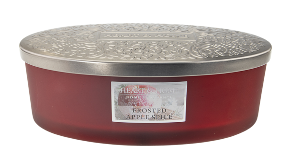 Duftkerze Ellipse Frosted Apple Spice 420g