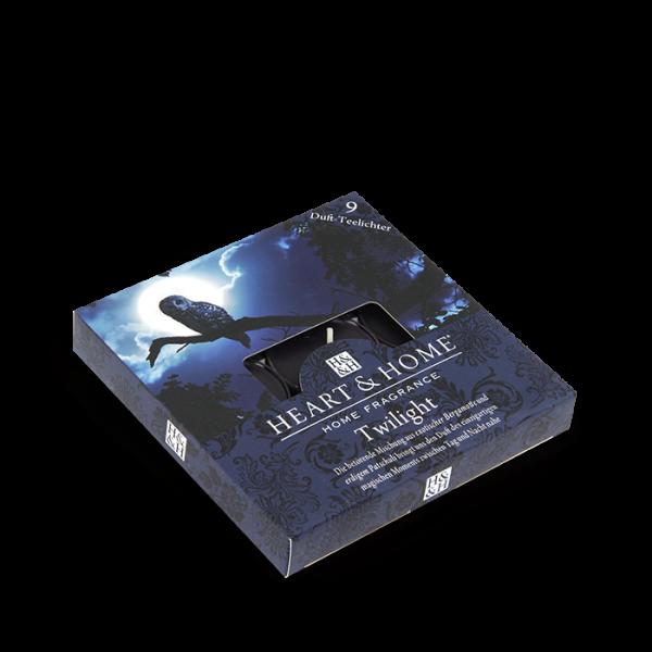 Duft-Teelichter Twilight im Geschenkkarton