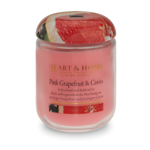 Duftkerze Pink Grapefruit & Cassis 340g