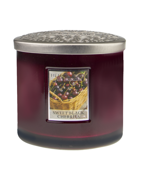 NEU Duftkerze Ellipse Sweet Black Cherries 230g