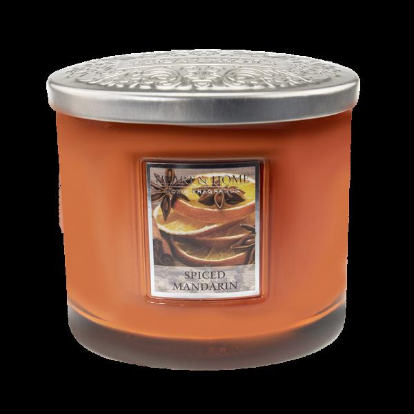 Duftkerze Ellipse Spiced Mandarin 230g