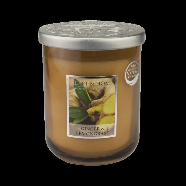 Duftkerze Ginger & Lemongrass 340g