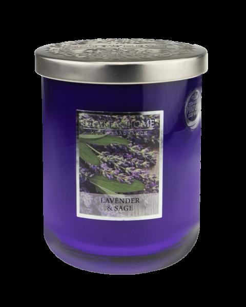 NEU Duftkerze Lavender & Sage 340g
