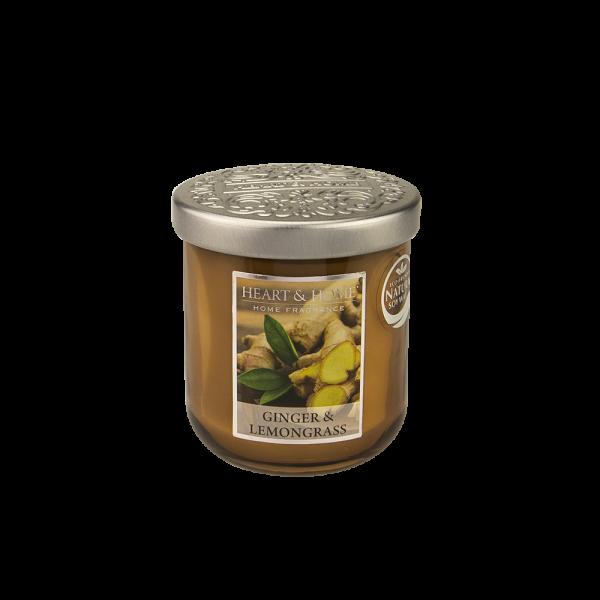 Duftkerze Ginger & Lemongrass 115g