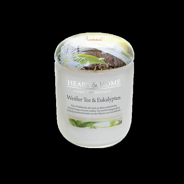 Duftkerze Weißer Tee & Eukalyptus 115g