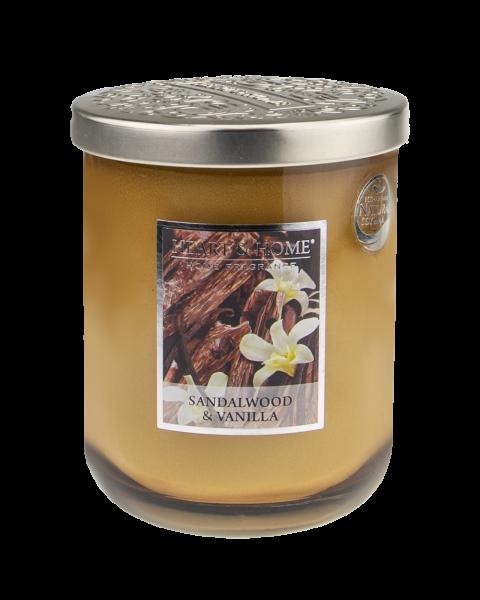 NEU Duftkerze Sandalwood & Vanilla 340g