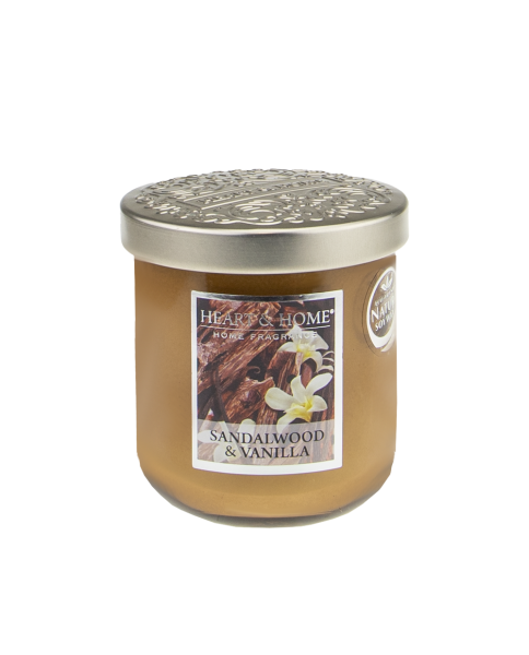 Duftkerze Sandalwood & Vanilla 115g