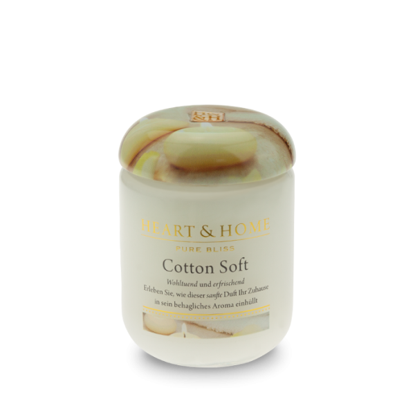 Duftkerze Cotton Soft 115g
